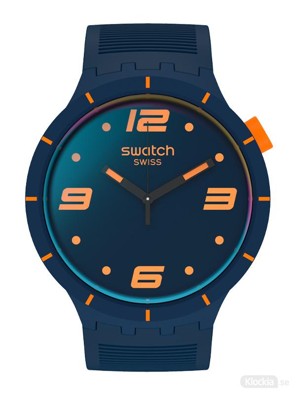 SWATCH Futuristic Blue SO27N110