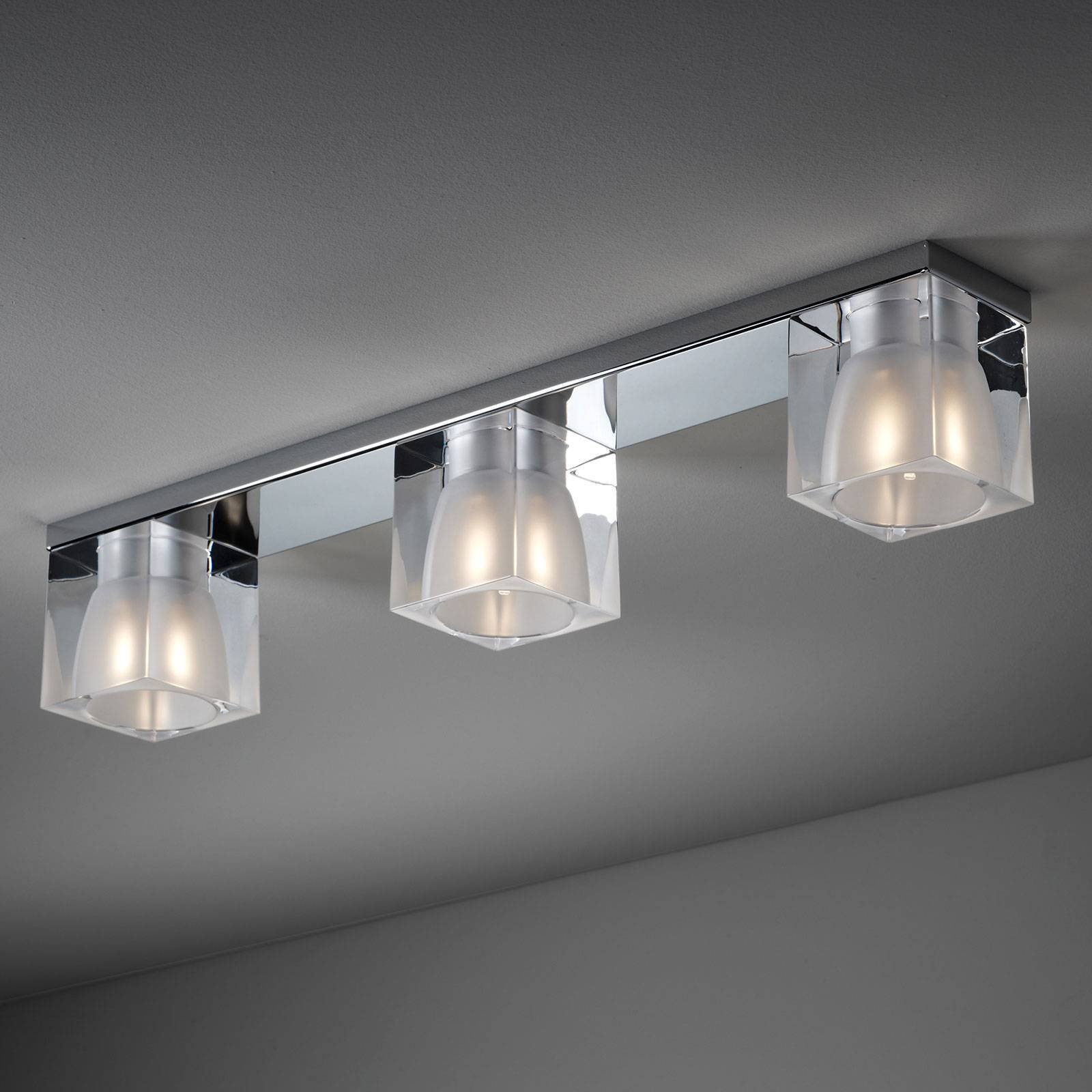 Fabbian Cubetto taklampe 3 lyskilder G9, klar