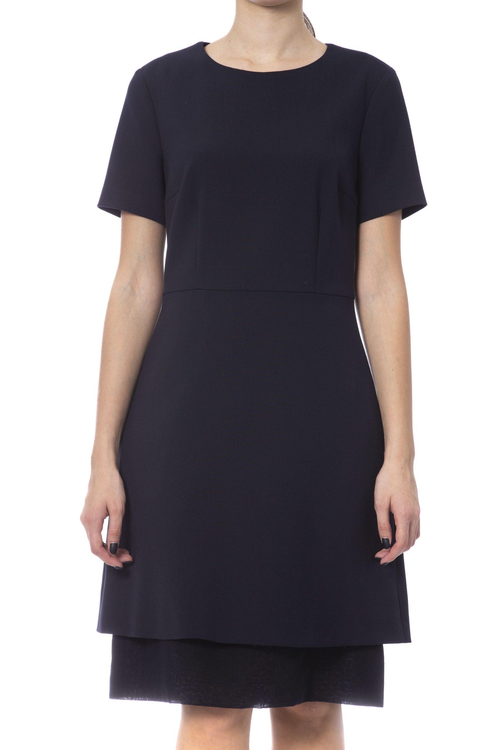 Peserico Women's Dress Blue PE992082 - IT42 | S