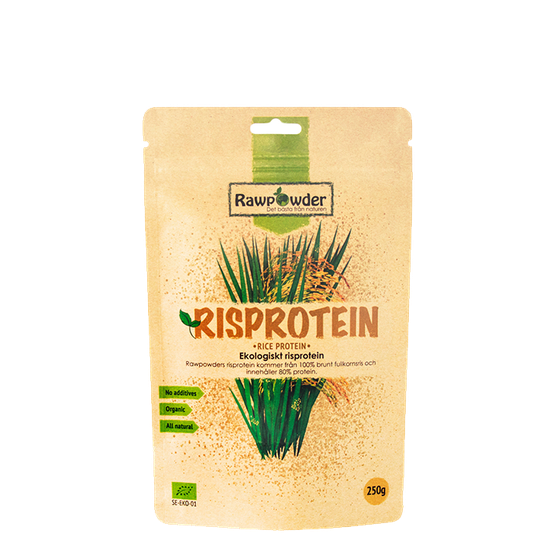 Luomuriisiproteiini 80% Eco, 250 g