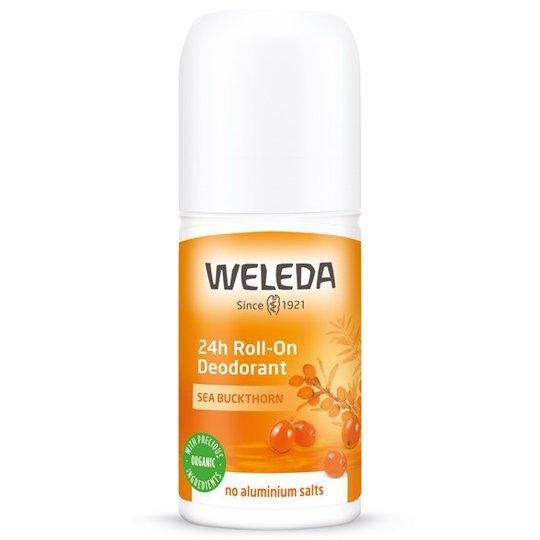 Weleda Sea Buckthorn 24h Roll-On Deodorant, 50 ml