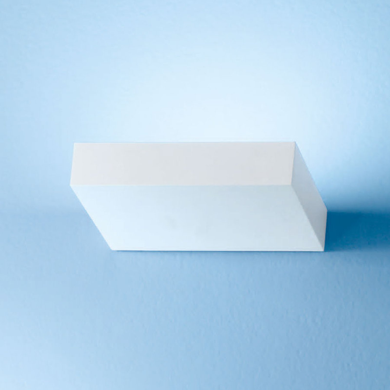 Regolo LED-vegglampe, lengde 16,3 cm, hvit