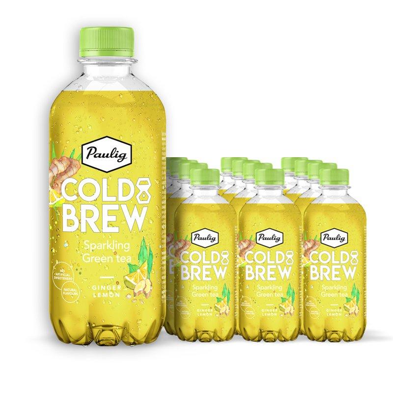 Teejuomat Sparkling Green Tea 12kpl - 65% alennus