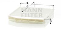 Raitisilmasuodatin MANN-FILTER CU 2855/1