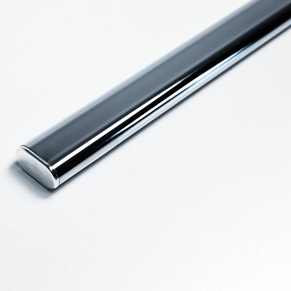 Pelly System Klesstang ovalrør Sølv, 1000