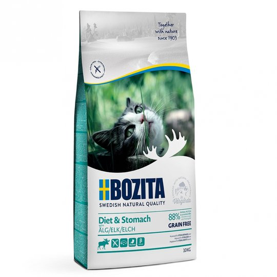 Bozita Diet & Stomach Grain Free Elk (10 kg)