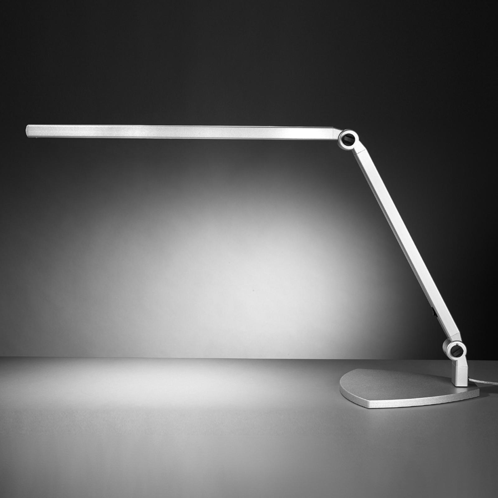 LED-pöytävalo Take 5, jalallinen, päivänvalo