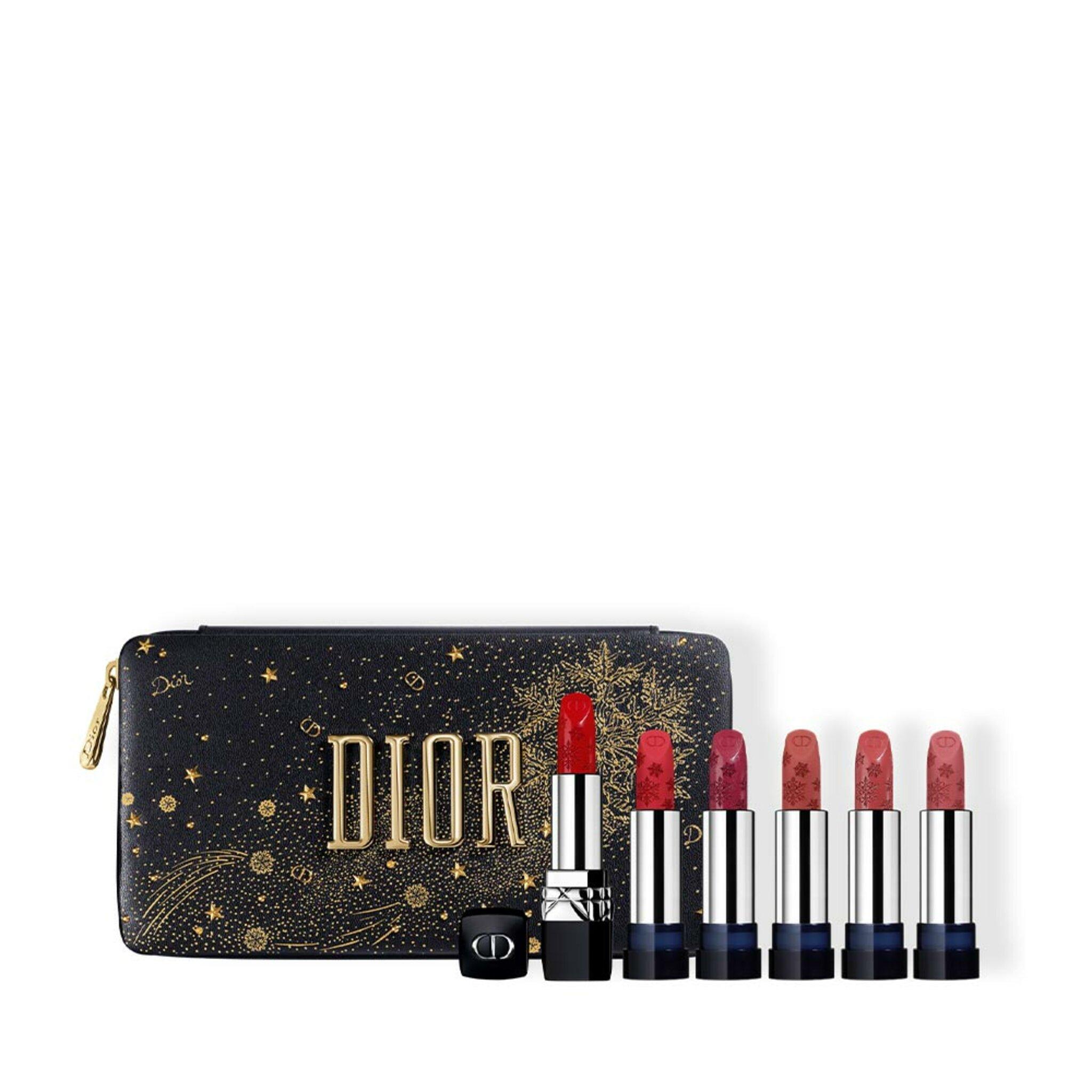 Rouge Dior Golden Nights Refillable Lipstick Set