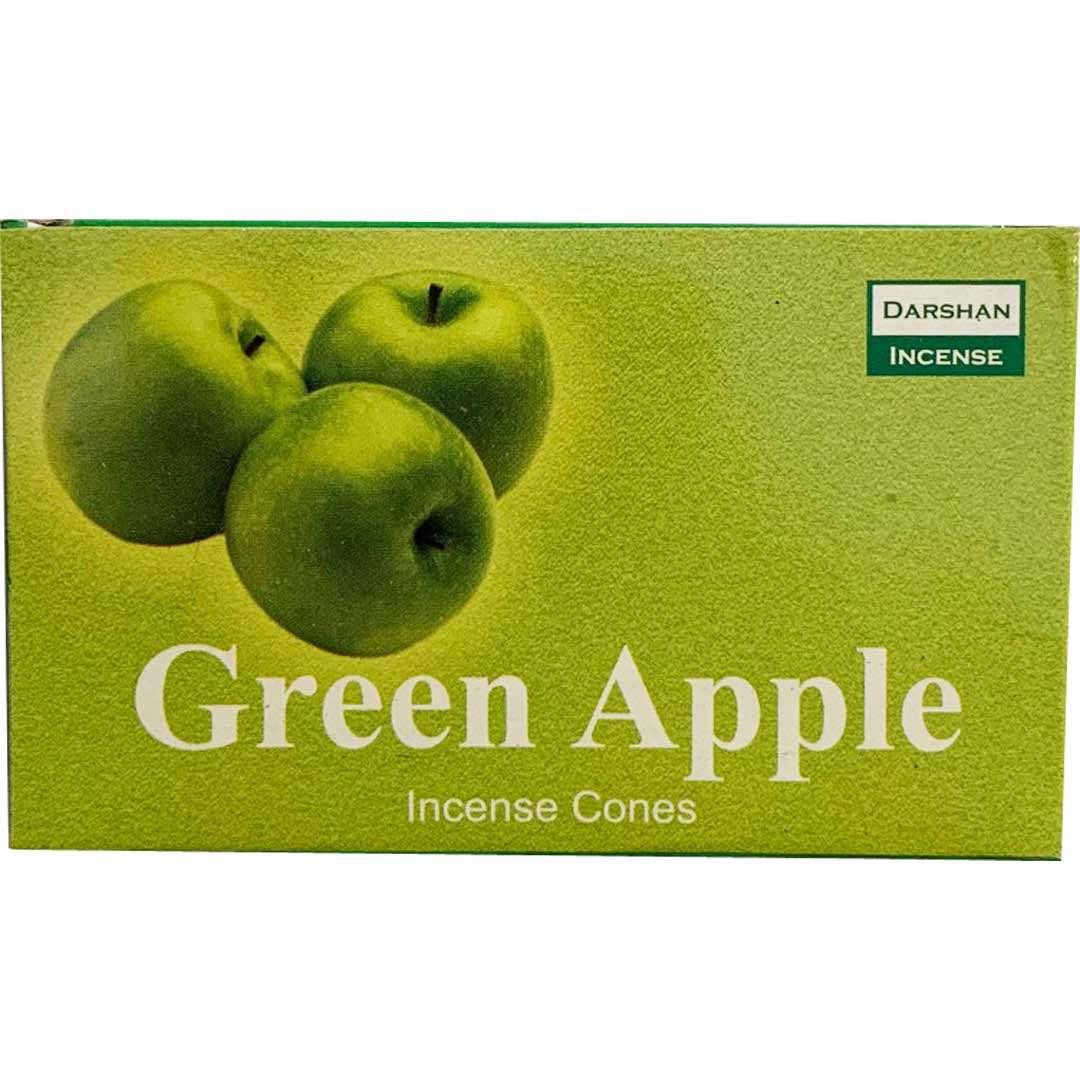 Grönt Äpple Rökelsekoner Darshan