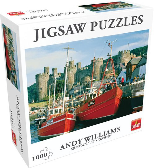 Goliath Games Puslespill Quayside at Conway NW 1000 Brikker