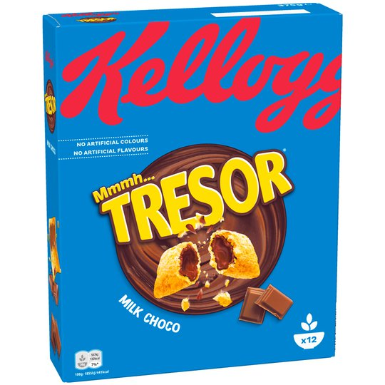 Frukostflingor Tresor Milk Choco - 26% rabatt