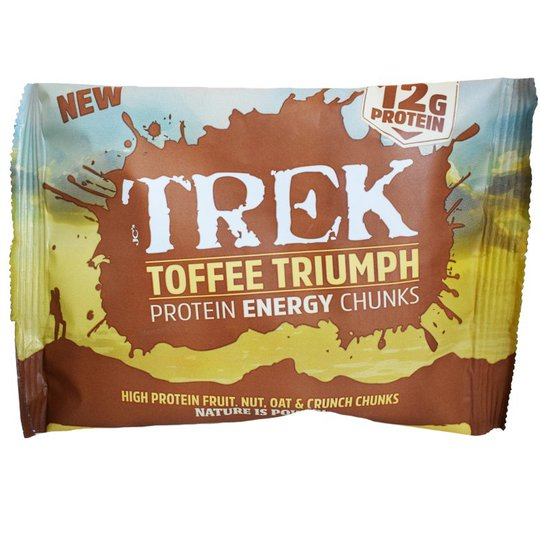 "Proteinbitar ""Toffee Triumph"" 60g - 72% rabatt"