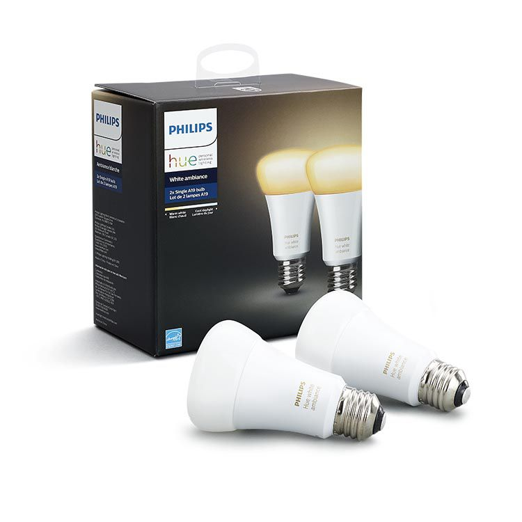 Philips Hue - E27 2-Pack - White Ambiance - Bluetooth