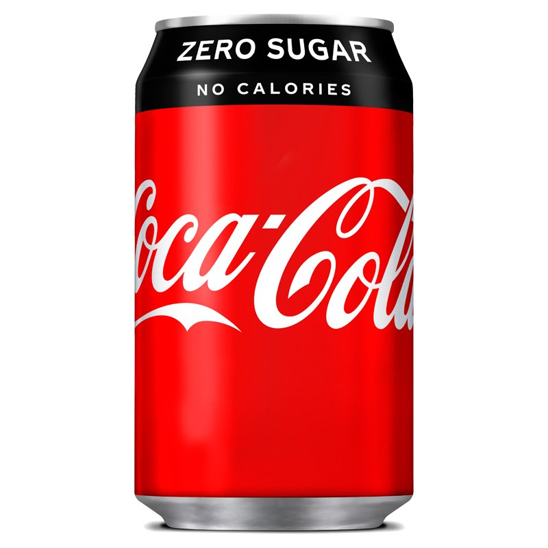 Virvoitusjuoma Coca Cola Zero - 39% alennus