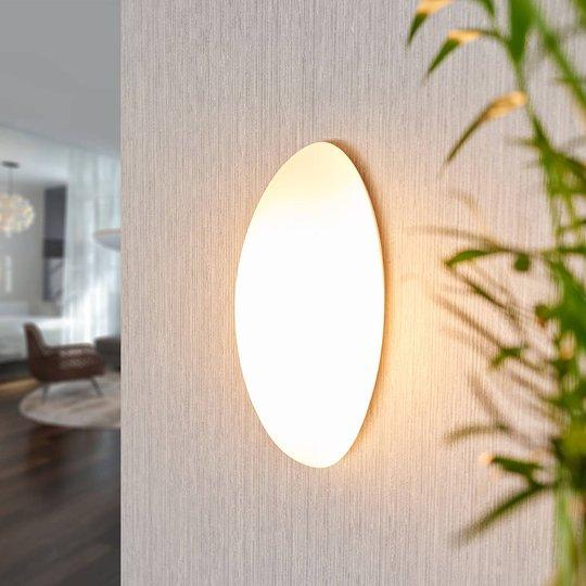 Vegglampe i glass Jemima