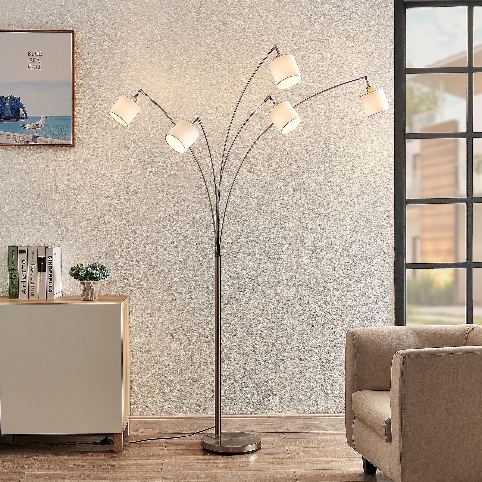 Lindby Stannis -kaarilamppu, 5-lamppuinen
