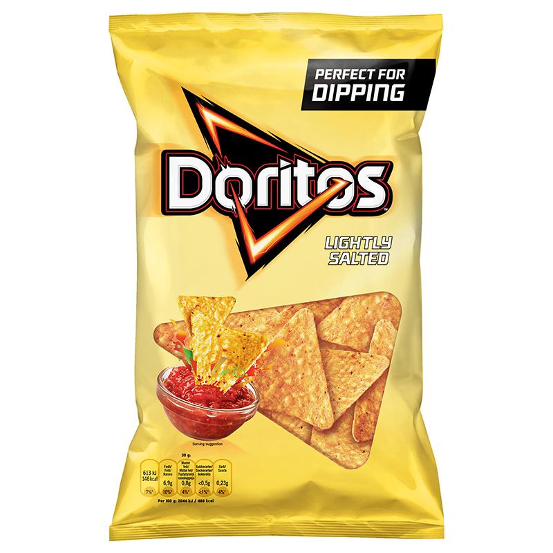 Doritos Lightly Salted 170g
