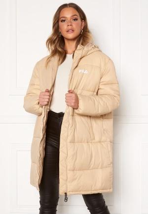 FILA Bronwen Puff Hood Jacket A694 Irish Cream M