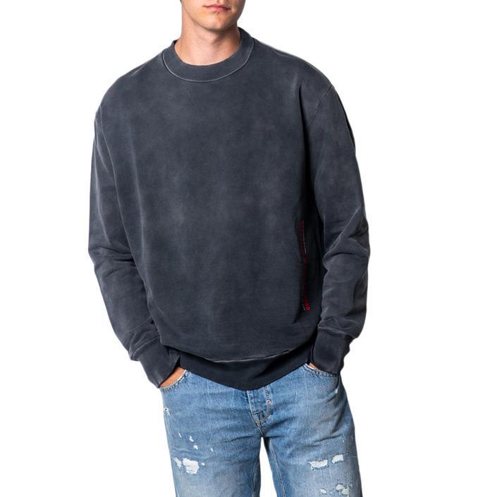 Diesel Men's Sweatshirt Grey 175428 - grey XL