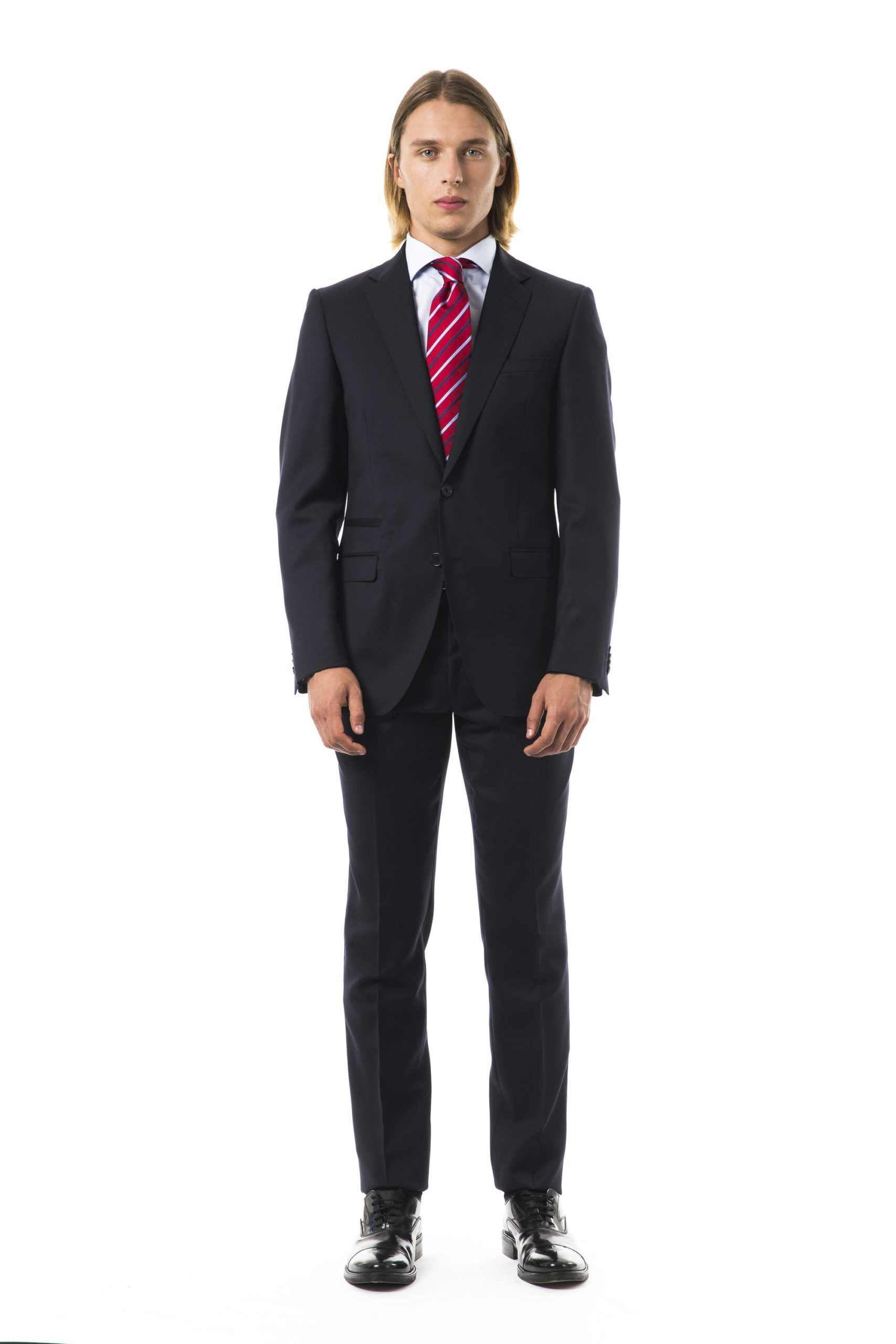 Uominitaliani Men's F Suit Gray UO1273811 - IT52 | L