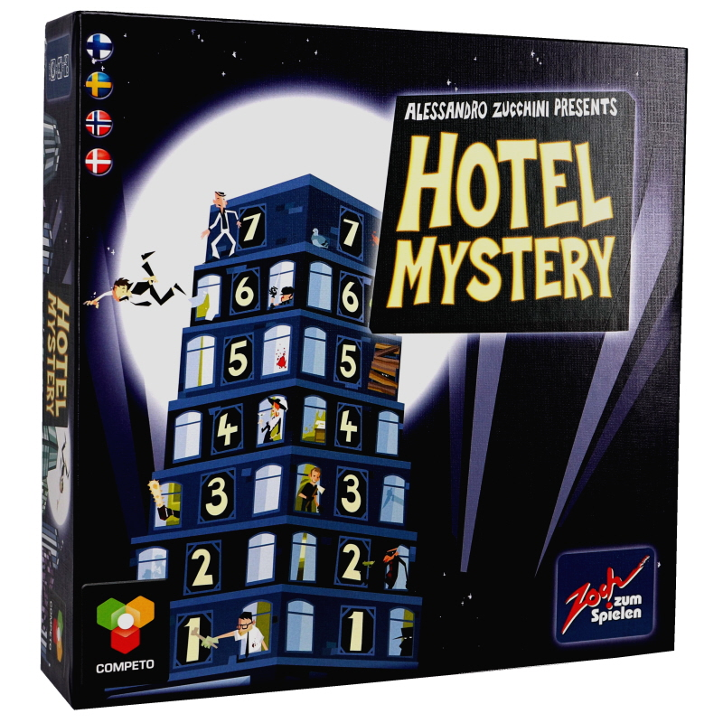 Mysteeri Hotelli, lautapeli - 70% alennus