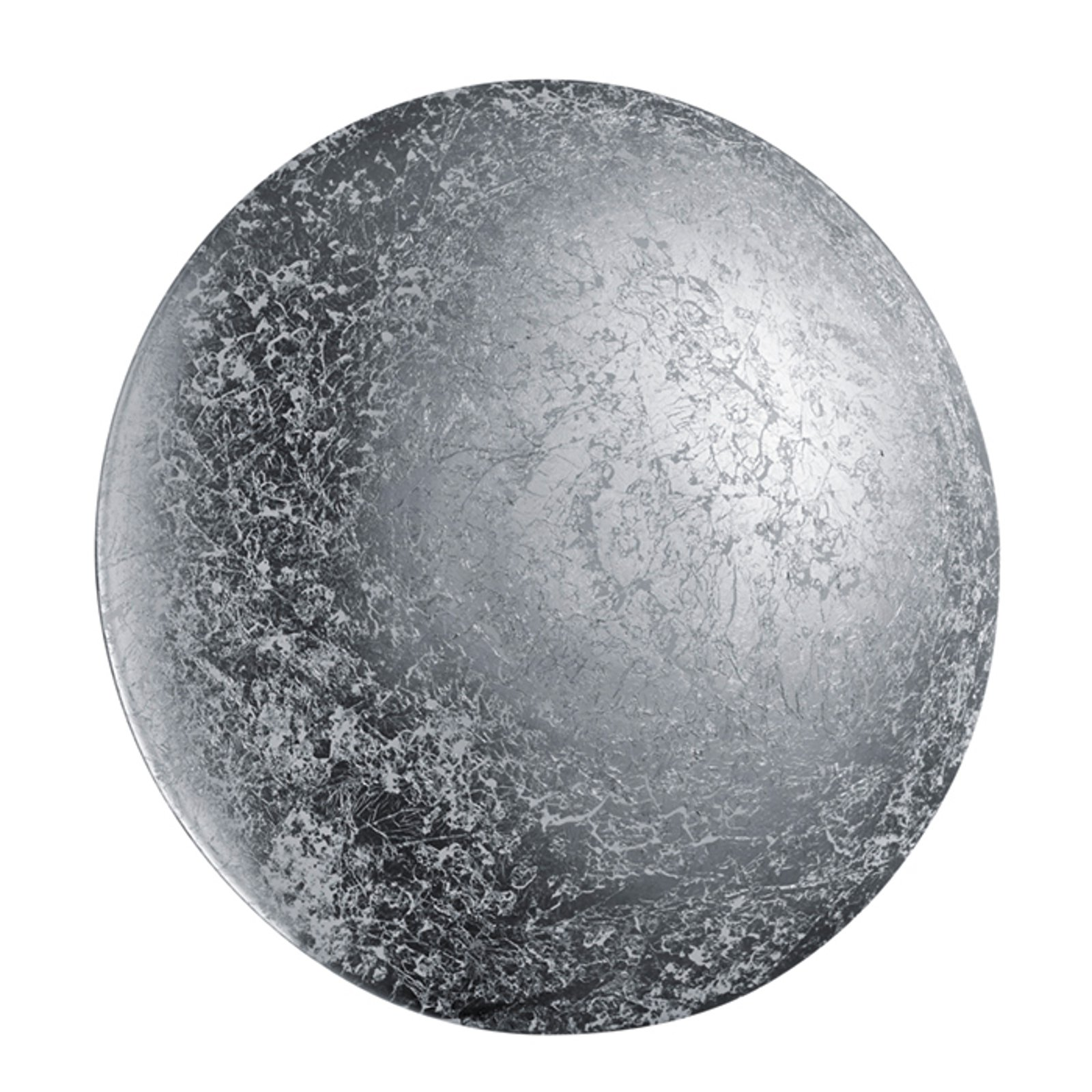 Chiros - sølvfarget vegglampe med LED