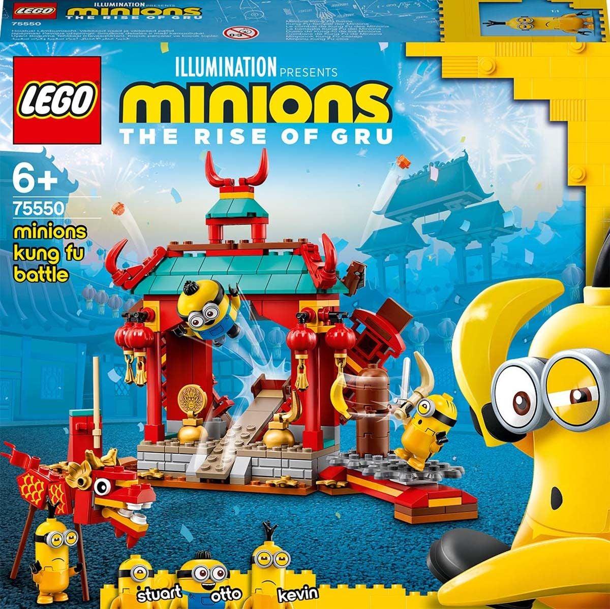 LEGO Minions 75550 Kätyrit: Kung Fu Taistelu