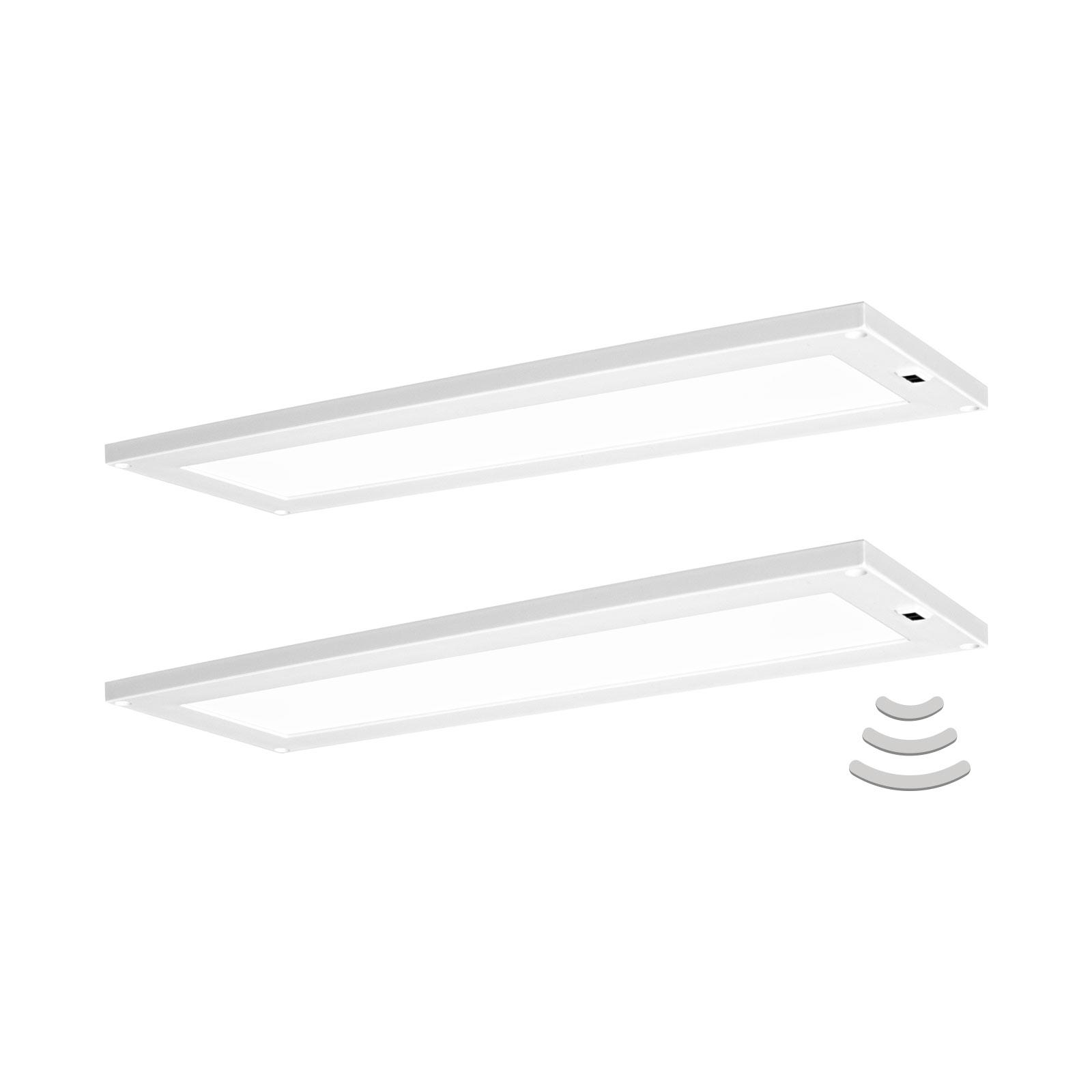 LEDVANCE Cabinet Panel -kaapinalusvalo 30x10cm x2