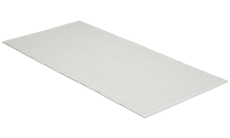 Solo hvit - plastteppe
