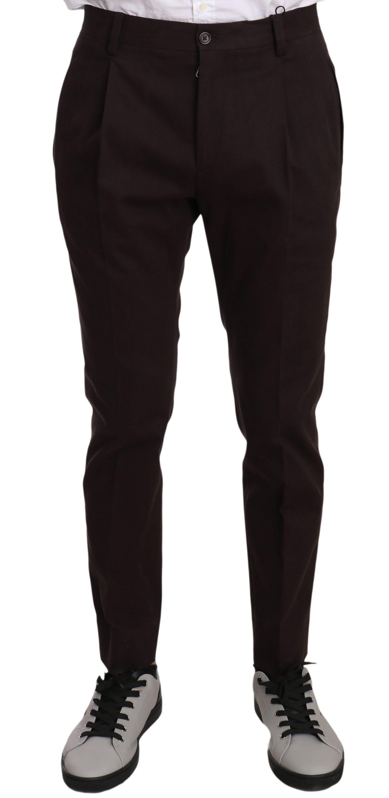 Dolce & Gabbana Men's Jeans Bordeaux PAN70135 PAN70135 - IT44 | XS