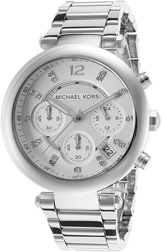 Michael Kors Women's Fashion Watch Silver MK5275