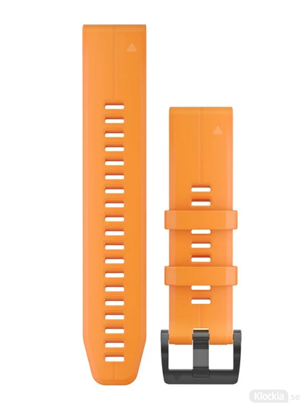 Garmin QuickFit 22mm - Klockarmband, Orange Silikon