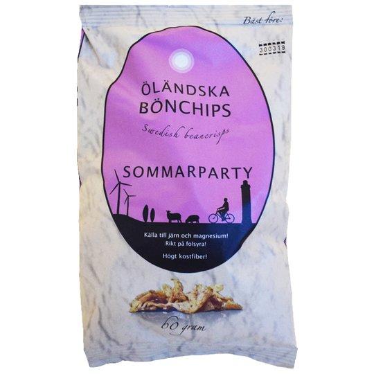 Bönchips Sommarparty 60g - 50% rabatt