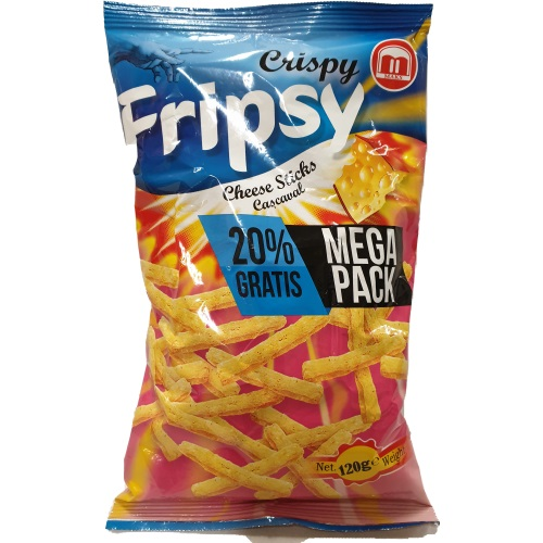 Crispy Fripsy Cheese 120g