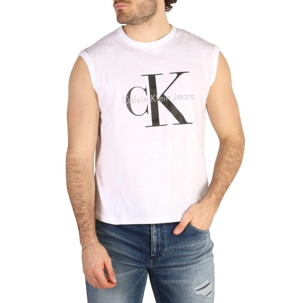 Calvin Klein Men's T-Shirt Various Colours J2IJ204029 - white XS