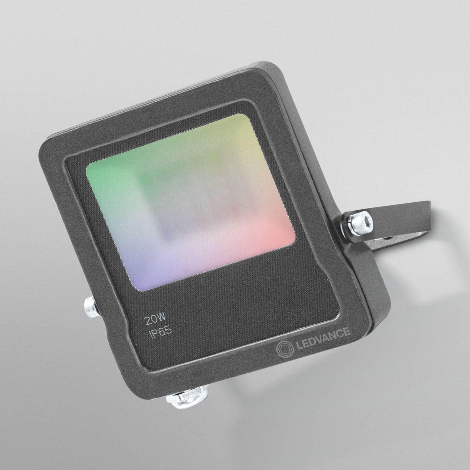 LEDVANCE SMART+ WiFi Flood-seinäkohdevalo RGBW 20W