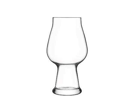 Birrateque ølglass stout/porter, 2 st. 60 cl Øv