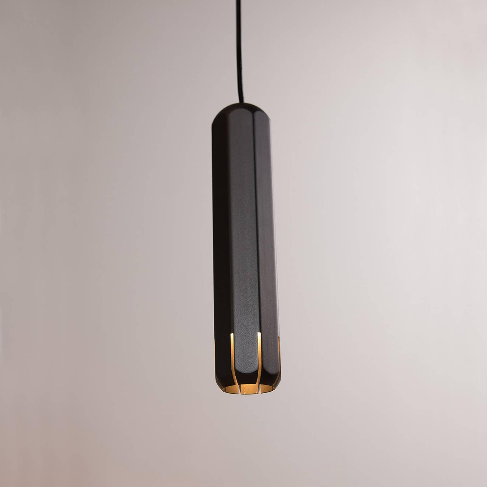 Innermost Brixton Spot 20 LED-hengelampe, grafitt