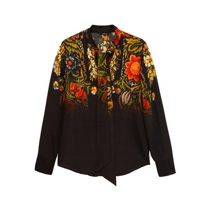 Desigual Women's Shirt Black 176039 - black S