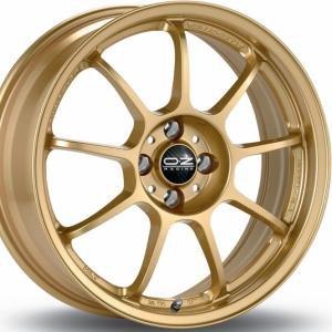 OZ Alleggerita HLT Gold 7x17 4/100 ET30 B68