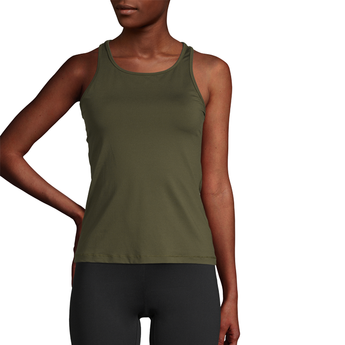 Essential Racerback, Forest Green