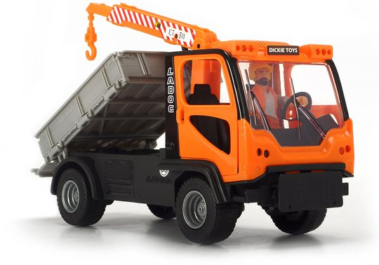 Dickie Toys Frihjuls Ladog T-1700