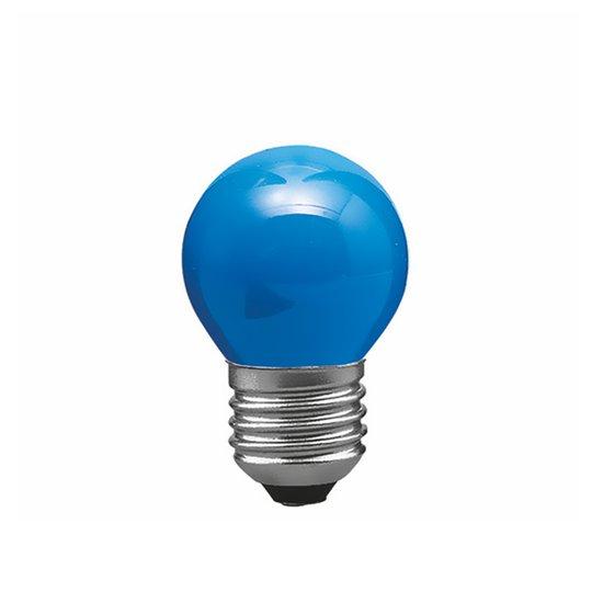 E27 25W pisaralamppu sininen, valoketjuun