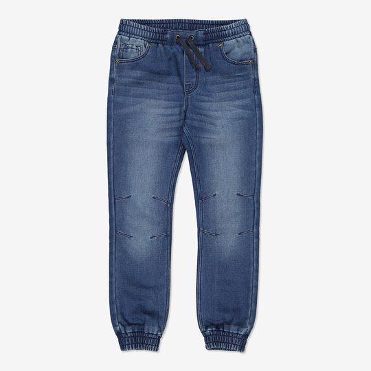 Bukse denim blå denim