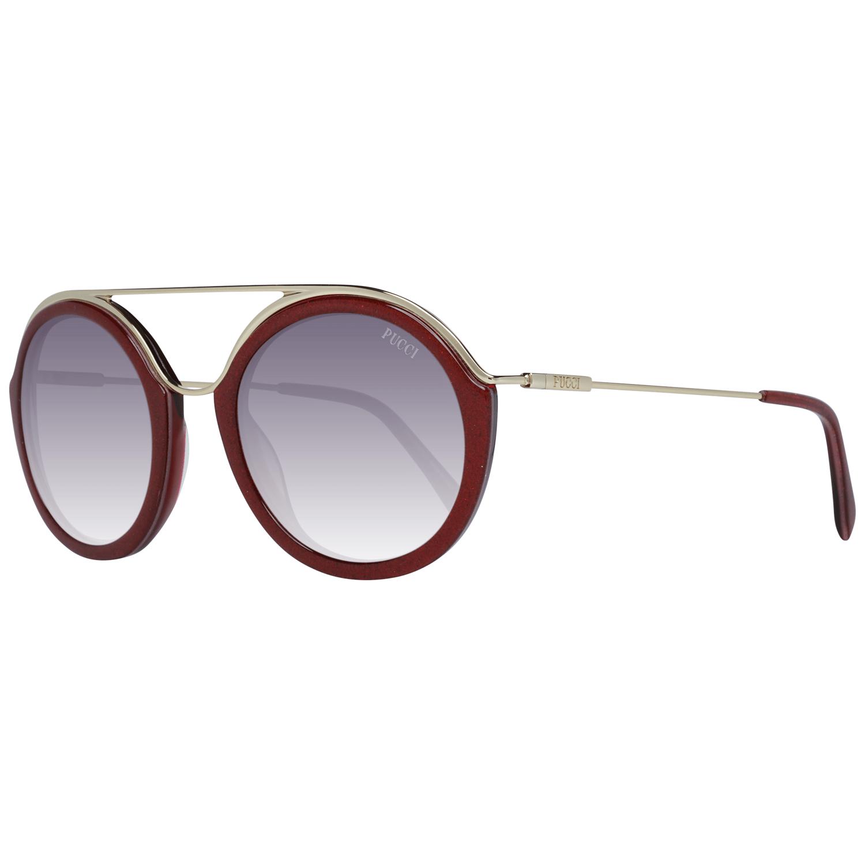 Emilio Pucci Women's Sunglasses Red EP0013 5274T