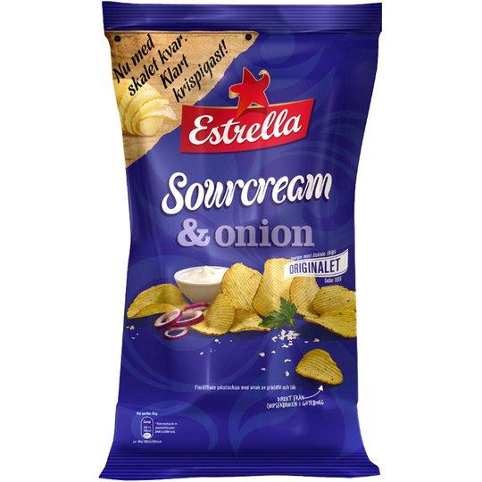 Chips Gräddfil & Lök 175g - 15% rabatt