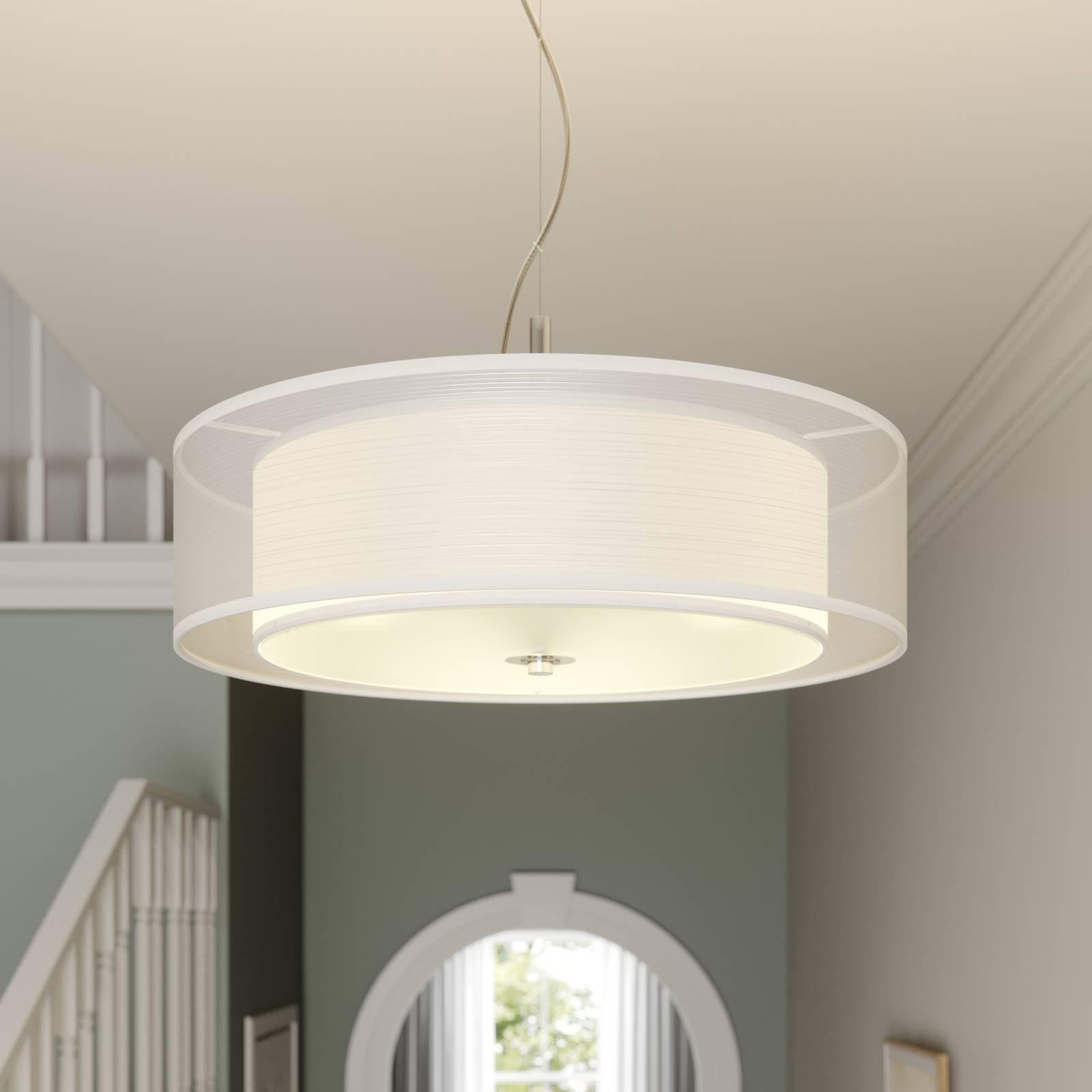Tekstilpendellampe Pikka med LED