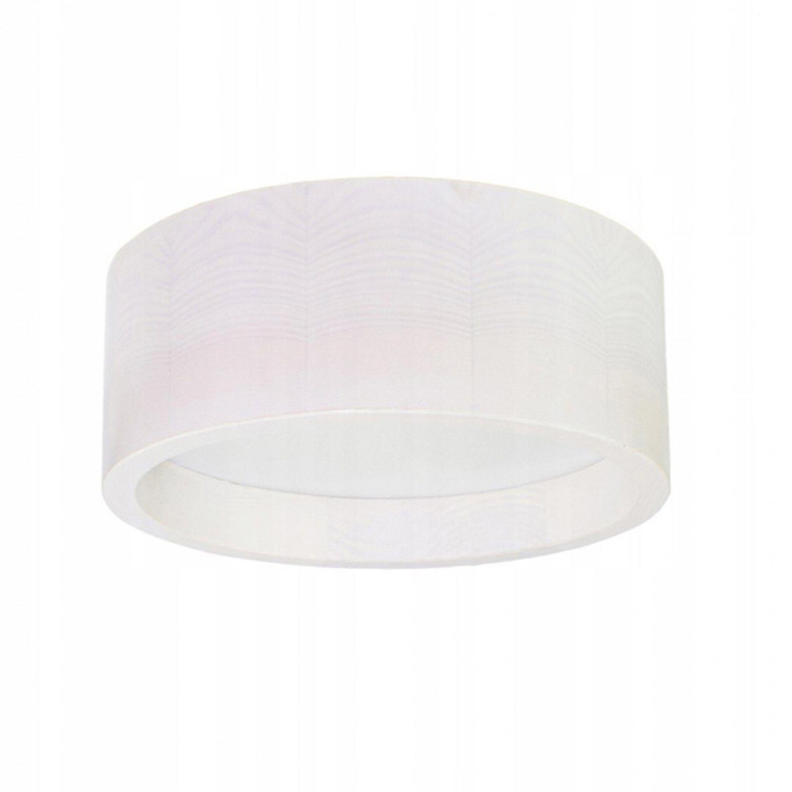 LED-taklampe Deep, Ø 28 cm, hvit