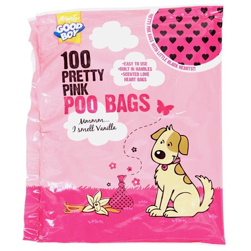 Kakkapussi Pretty Pink 100kpl - 20% alennus