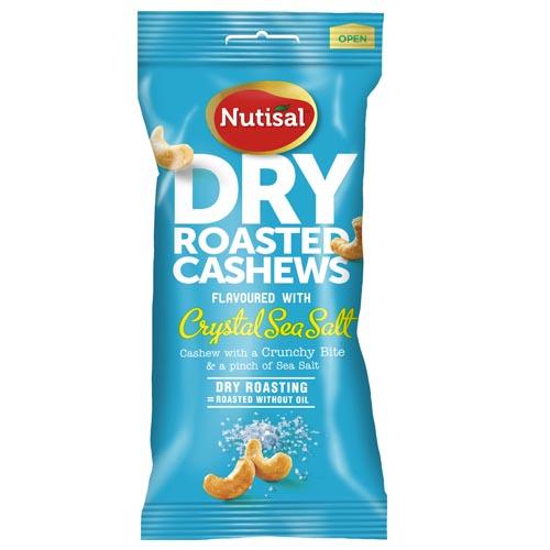 Roasted Cashew Crystal Sea Salt 60g x 14